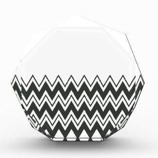 Zigzag negro y blanco
