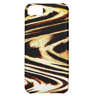 Zigzag of Tiger Chevron Popular Pattern Stripes iPhone 5C Case