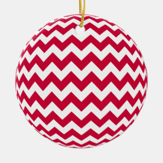 Zigzag Ornament you choose color red