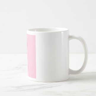 Zigzag - Pale Pink and Carnation Pink Mugs