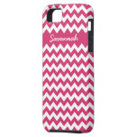 Zigzag Pattern Any Color  Personalized iPhone iPhone 5 Cover
