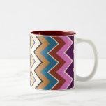 ZigZag Pattern Designer Decor Mug - Sonoran Style