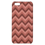 Zigzag Pern in Cool Shades of Red Cover For iPhone 5C