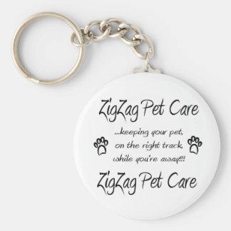 ZigZag Pet Care Basic Key Chain