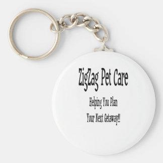 ZigZag Pet Care Keychains