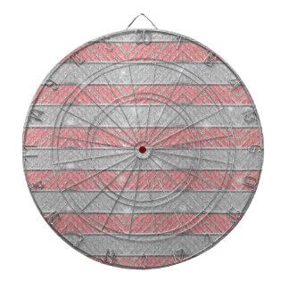 Zigzag rayado del brillo tabla dardos