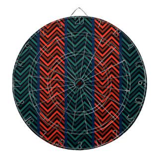 Zigzag, rayas tablero dardos