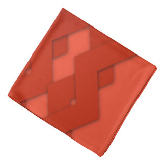 Zigzag rojo bandanas