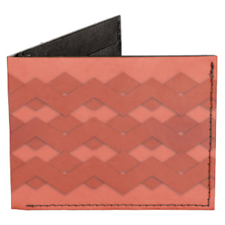 Zigzag rojo billeteras tyvek®