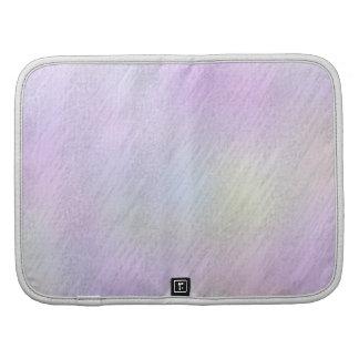 Zigzag rosado abstracto de Ikat Chevron Planificadores