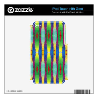 ZigZag Decals For iPod Touch 4G