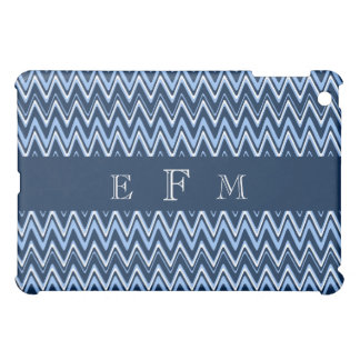 ZigZag Speck iPad Case in Blue & White