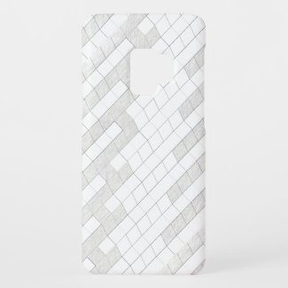 zigzag squares in gray... Case-Mate samsung galaxy s9 case