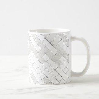 zigzag squares in gray...