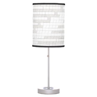 zigzag squares in gray... table lamp