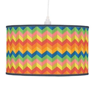 zigzag stripe ceiling lamp