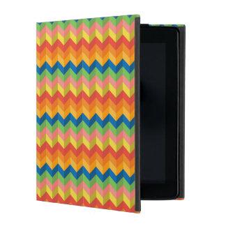 zigzag stripe iPad case
