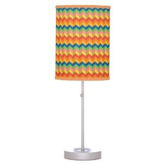 zigzag stripe table lamp