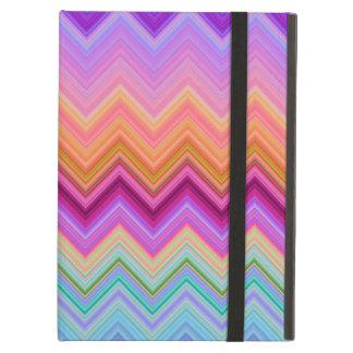Zigzag sunset case for iPad air