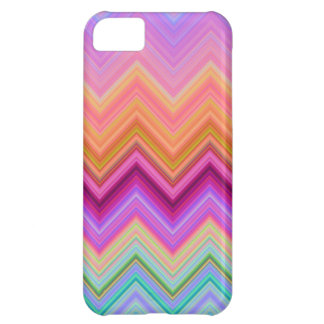 Zigzag sunset cover for iPhone 5C