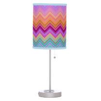 Zigzag Sunset Desk Lamp
