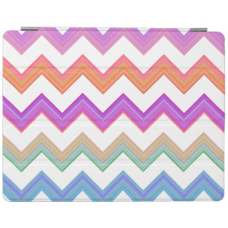 Zigzag sunset iPad cover