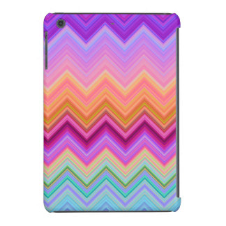 Zigzag sunset iPad mini case
