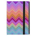 Zigzag sunset iPad mini cases