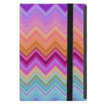 Zigzag sunset iPad mini cover
