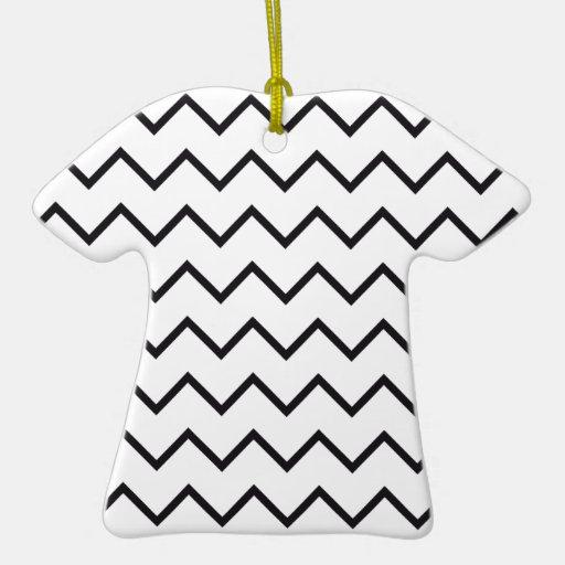 zigzag triangle geometric pattern ornament