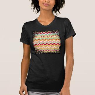 Zigzag tribal azteca de la fiesta de Chevron de Camisas