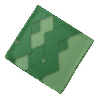 Zigzag verde bandanas