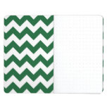 Zigzag verde y blanco