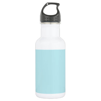 Zigzag - White and Blizzard Blue Water Bottle
