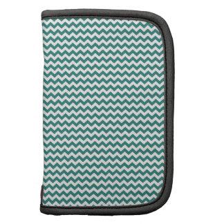 Zigzag - White and Celadon Green Organizer