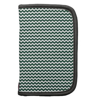 Zigzag - White and Dark Green Planners