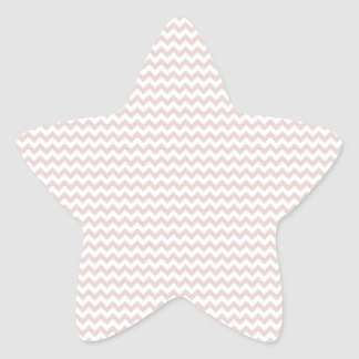 Zigzag - White and Dust Storm Star Sticker