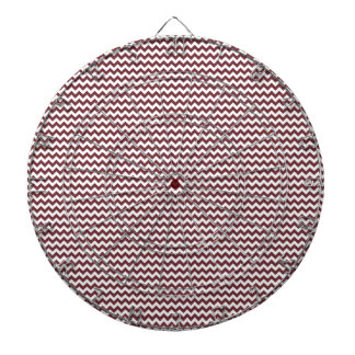 Zigzag - White and Wine Dartboards