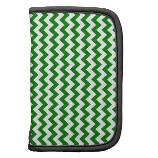 Zigzag Wide  - White and Green Organizer