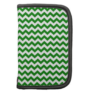 Zigzag Wide  - White and Green Planner