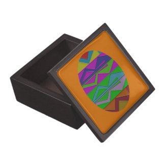 ZigZag Wood Gift Box