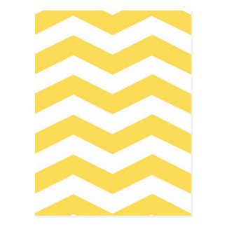 Zigzags amarillos postal