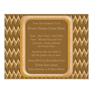 Zigzags - Chocolate Peanut Butter Card