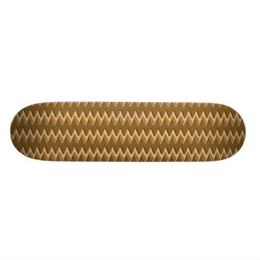 Zigzags - Chocolate Peanut Butter Skate Decks