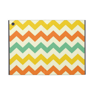 Zigzags de Chevron del amarillo anaranjado de la iPad Mini Protector