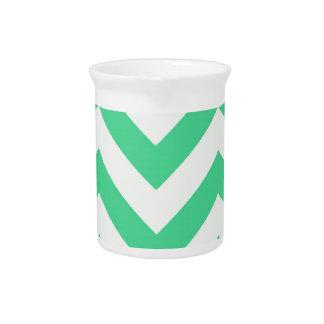 Zigzags en trullo jarra de beber