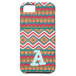 Zigzags frescos locos en los casos y las cubiertas iPhone 5 Case-Mate coberturas