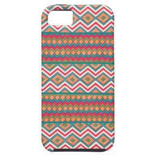 Zigzags frescos locos en los casos y las cubiertas iPhone 5 Case-Mate cárcasas