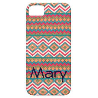 Zigzags frescos locos en los casos y las cubiertas iPhone 5 Case-Mate carcasas