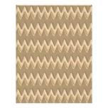 Zigzags - mantequilla de cacahuete del chocolate membrete a diseño
